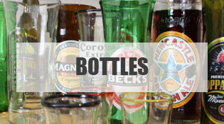 Recycled Beer Bottle Gifts
