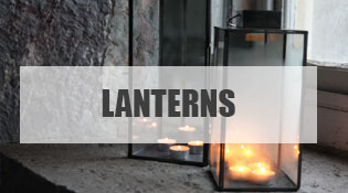 Outdoor Glass Lanterns