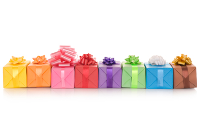 Gifts for him, gifts for her & gifts for children.