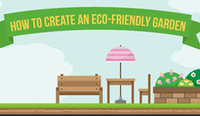 How to create an eco-friendly garden