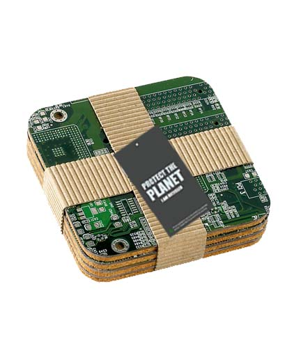 Circuit Board Coasters