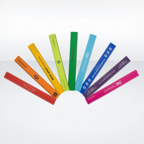 Recycled Plastic Promotional Ruler