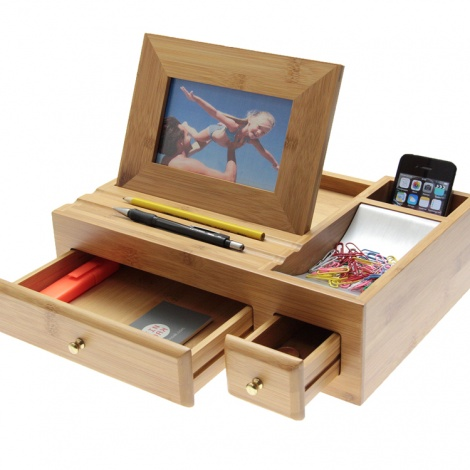 Bamboo Desk Manager