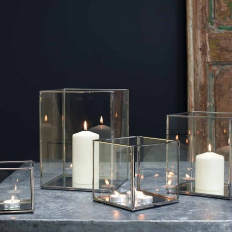 Bimala Glass Box Lanterns