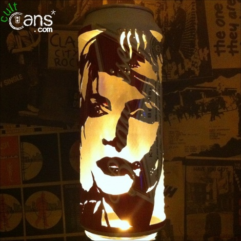 Debbie Harry Beer Can Lantern