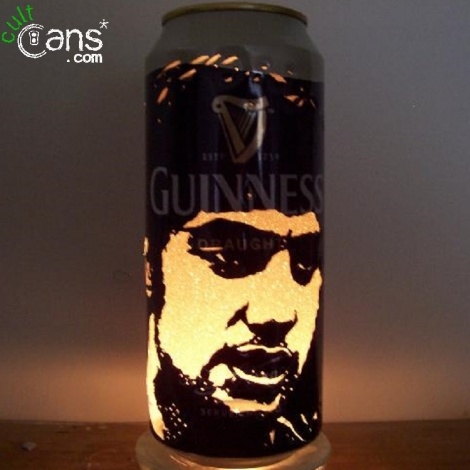 George Best Beer Can Lantern