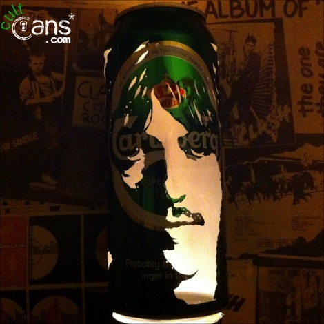 George Harrison Beer Can Lantern