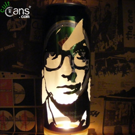 Jarvis Cocker Beer Can Lantern
