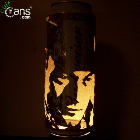 John Wayne Beer Can Lantern