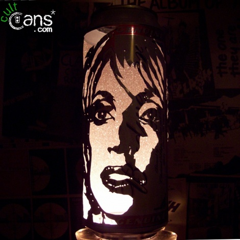 Lady Gaga Beer Can Lantern