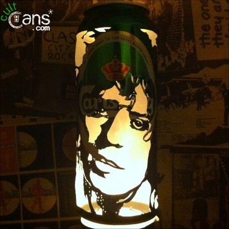 Marc Bolan Beer Can Lantern