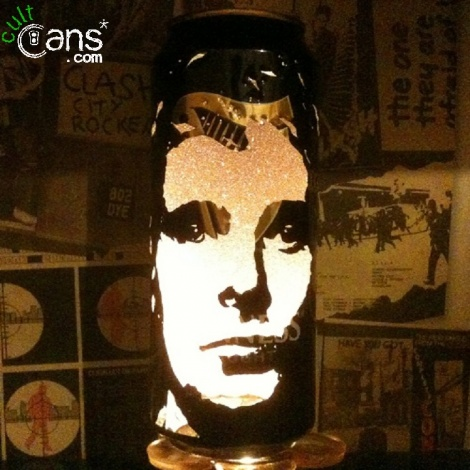 Matt Bellamy Beer Can Lantern
