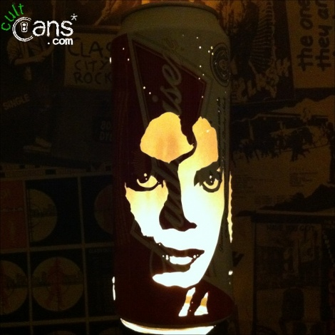 Michael Jackson Beer Can Lantern