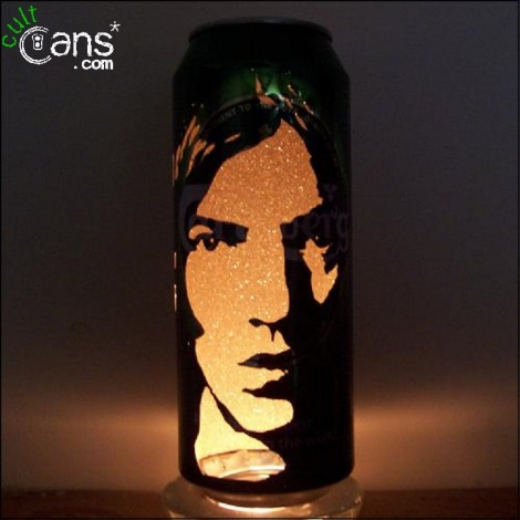 Richard Ashcroft Beer Can Lantern