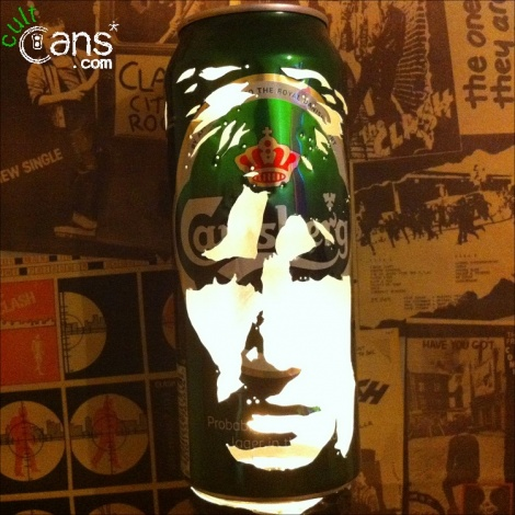Roger Waters Beer Can Lantern