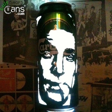 James Bond Beer Can Lantern