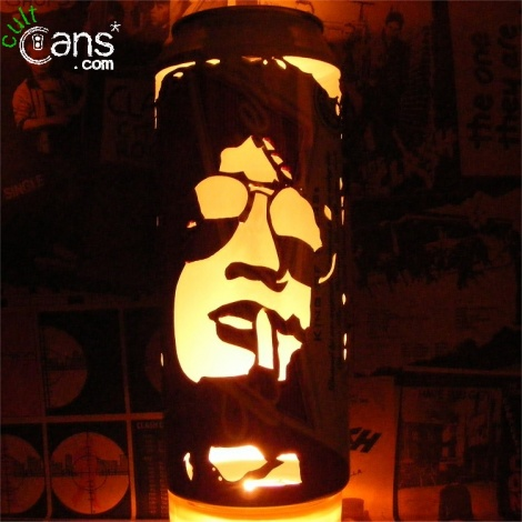 Slash Beer Can Lantern