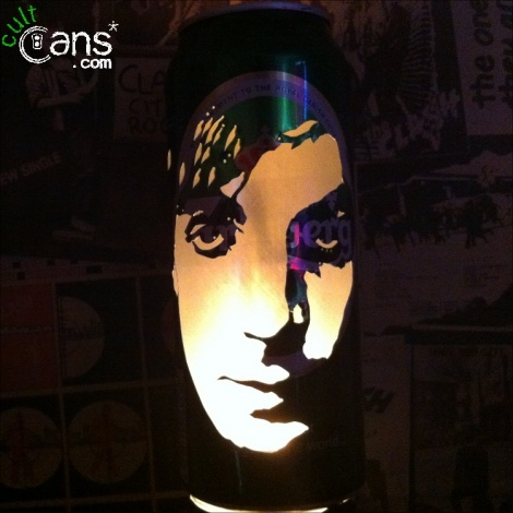 Syd Barrett Beer Can Lantern