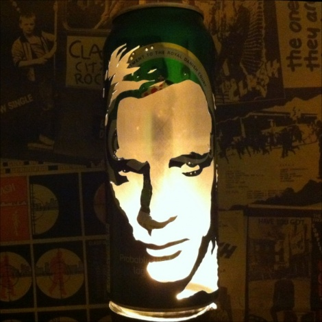 Daniel Craig Beer Can