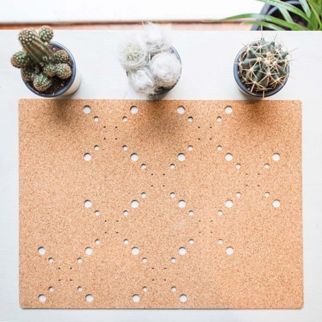 Patterned Cork Placemats