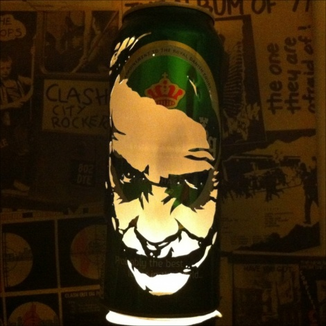 Joker Beer Can