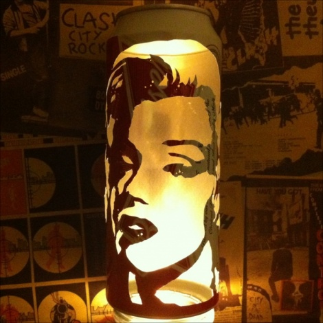 Marilyn Monroe Beer Can