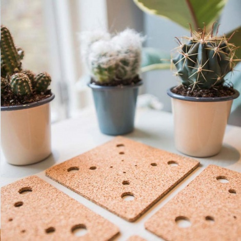 Patterned Cork Coasters