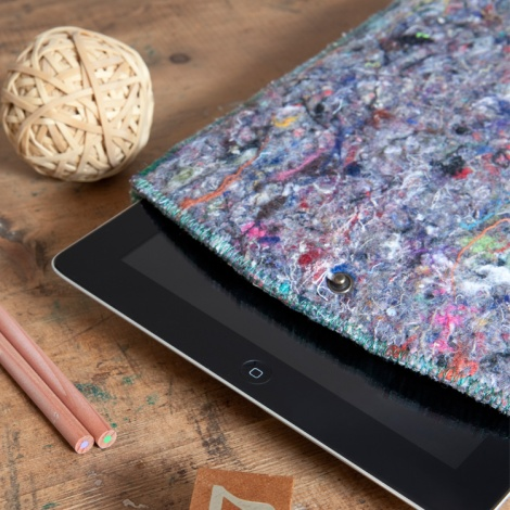 Recycled Fabric iPad Case