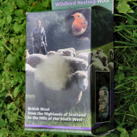 British Sheeps Wool for Birds