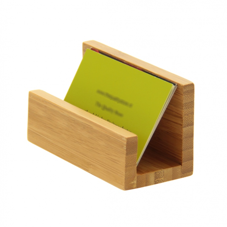 Wooden Business Card Holder by Woodquail | Eco Gifts