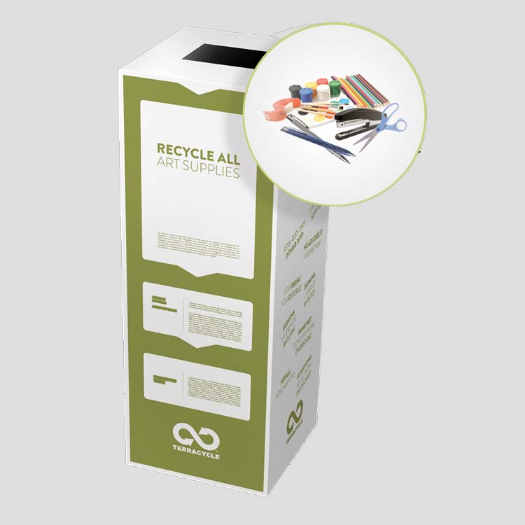 Arts crafts zero waste box by terracycle eco gifts for Waste to useful crafts