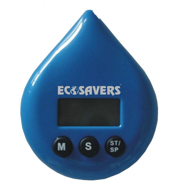 Shower Water Timer : Ecosaver shower timer with alarm eco gifts