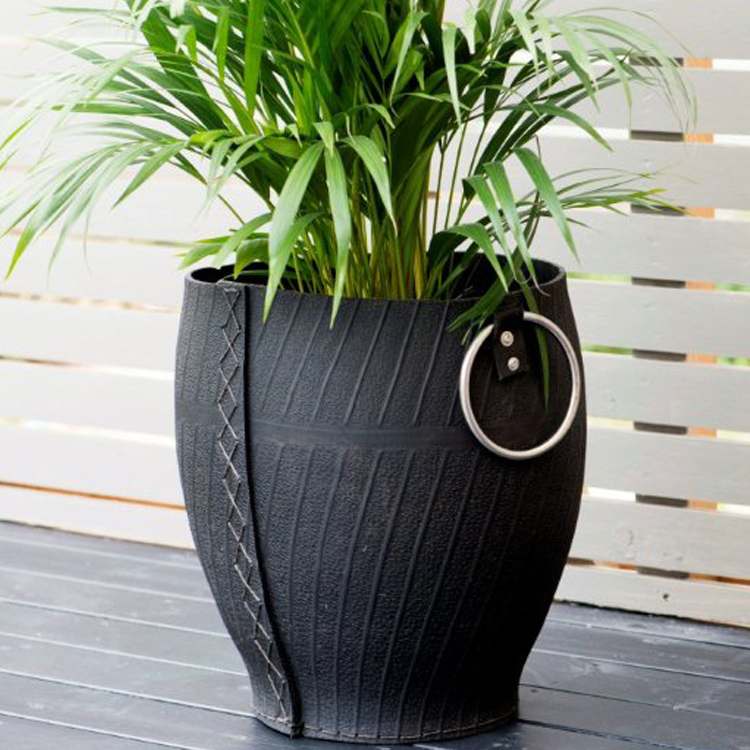 Recycled Tyre Planter By Retread Eco Gifts