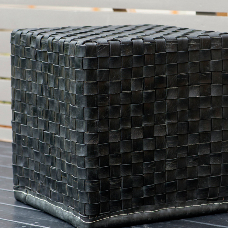 Stool made from tyres by ReTread | Eco Gifts