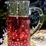Recycled Glass Pitcher Jug