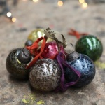 Adari Coloured Glass Baubles