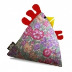 Alice Vintage Fabric Chicken Doorstop