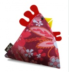 Lucy Vintage Fabric Chicken Doorstop