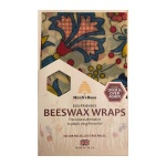 Flowers Beeswax Food Wrap