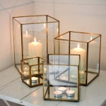 Bimala Brass Box Lanterns