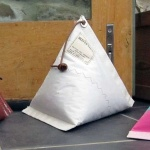 Recycled Sailcloth Doorstop