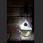 Courvoisier Bottle Lamp