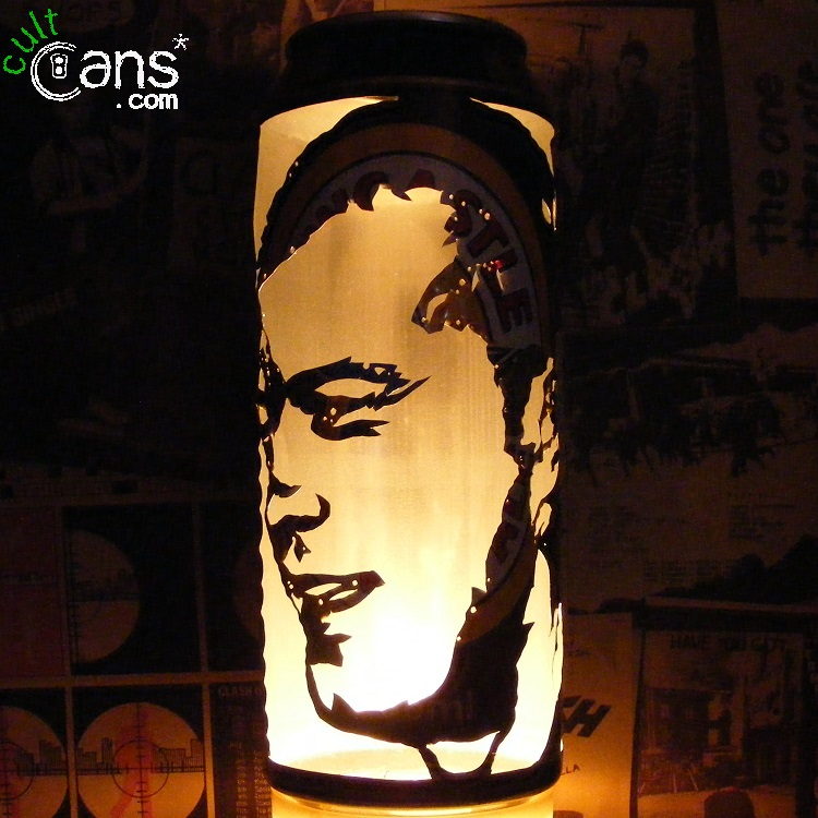 Alan Shearer Beer Can Lantern