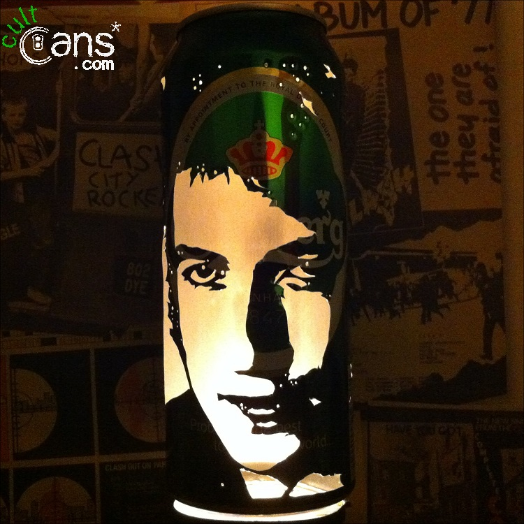 Bob Dylan Beer Can Lantern