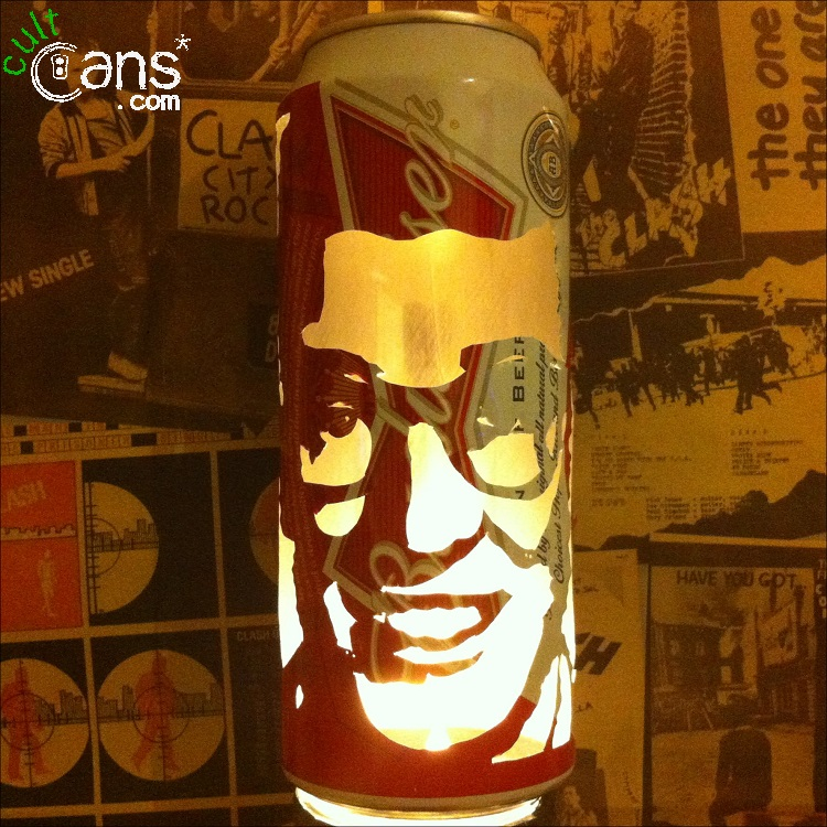 Buddy Holly Beer Can Lantern