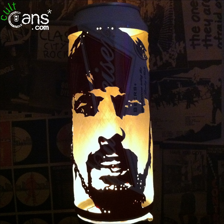 Dave Grohl Beer Can Lantern