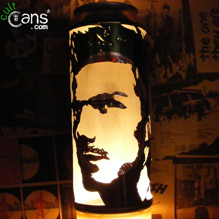 David Beckham Beer Can Lantern