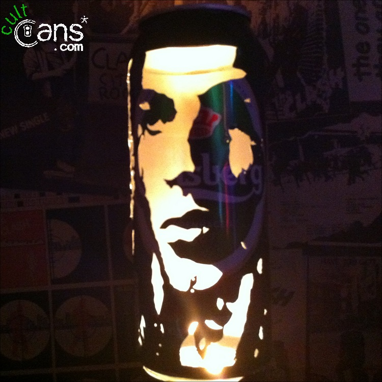 David Gilmour Beer Can Lantern