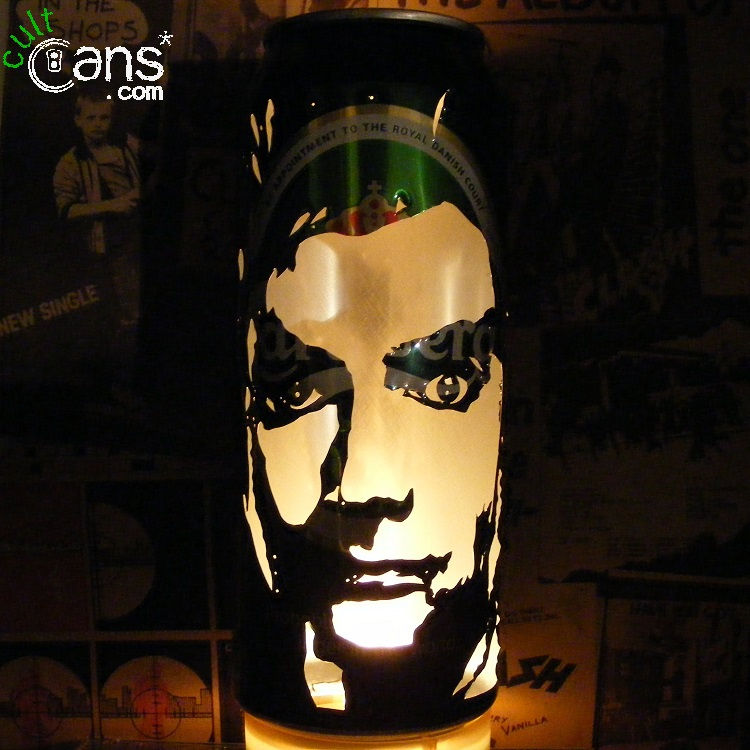 David Tennant Beer Can Lantern
