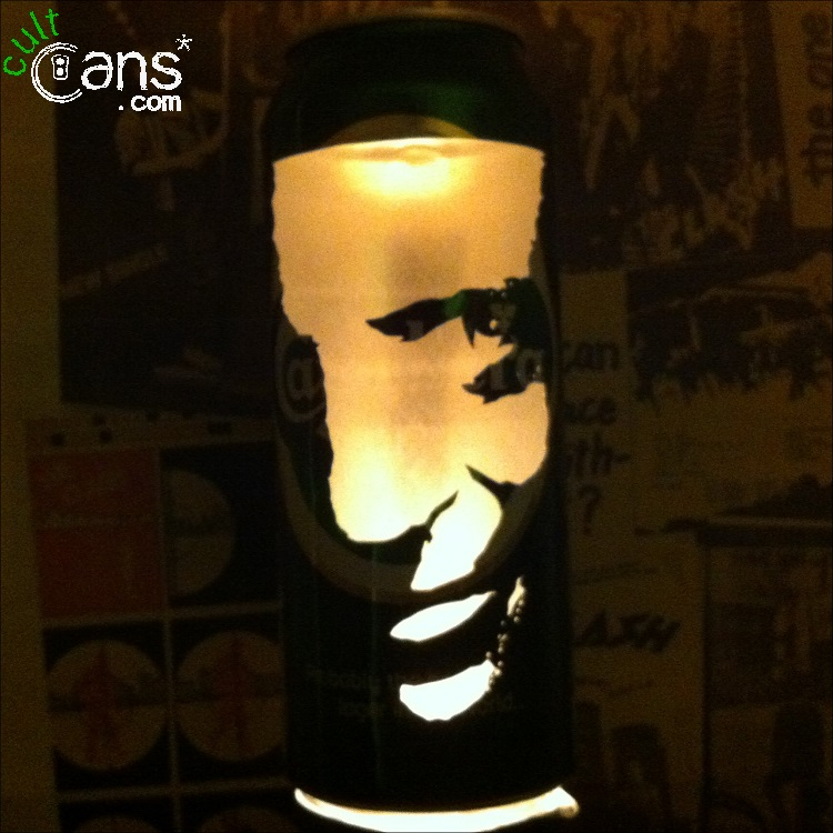 Hannibal Lecter Beer Can Lantern
